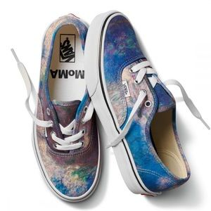 VANS MOMA X AUTHENTIC 'CLAUDE MONET WATER LILY WMN
